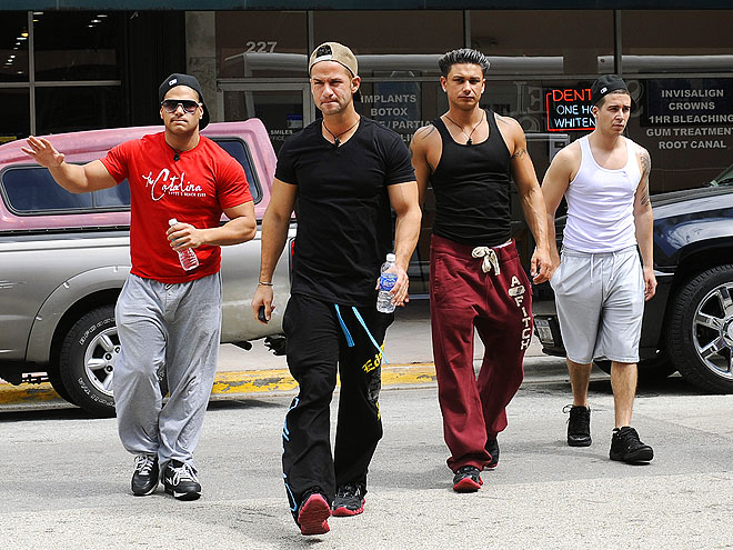 DON'T: LOSE YOUR SWAGGER photo | Mike Sorrentino, Pauly DelVecchio, Ronnie Magro, Vinny Guadagnino
