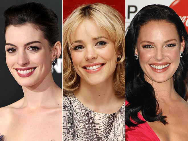 3. SHE'S THE STANDARD photo | Anne Hathaway, Katherine Heigl, Rachel McAdams