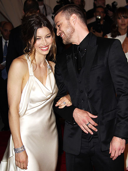 COUTURE COUPLE photo | Jessica Biel, Justin Timberlake