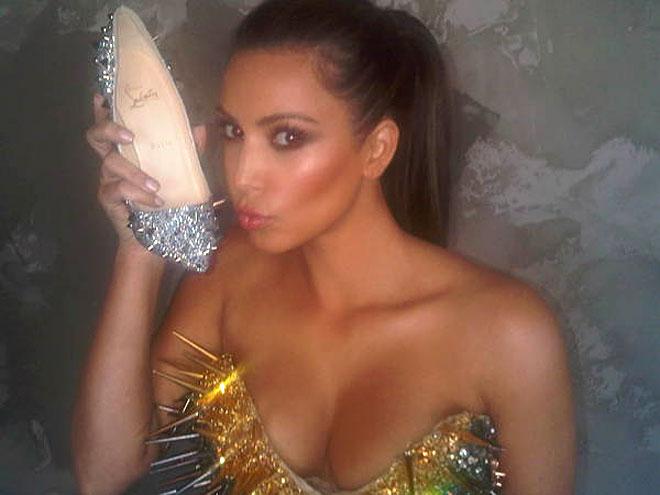 SHOE IN  photo | Kim Kardashian