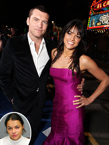 MICHELLE RODRIGUEZ photo | Michelle Rodriguez, Sam Worthington