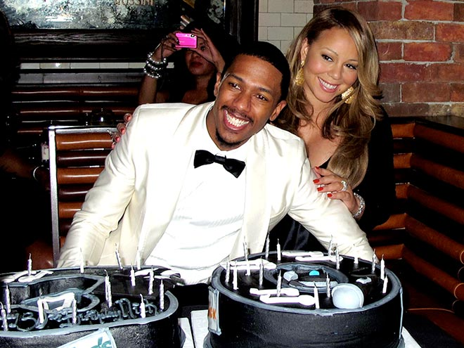 BIRTHDAY PRESENCE photo | Mariah Carey, Nick Cannon