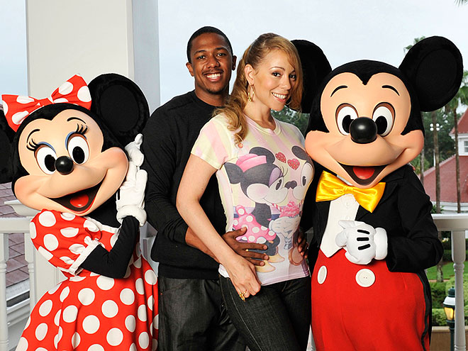DOUBLE DISNEY DATE photo | Mariah Carey, Nick Cannon
