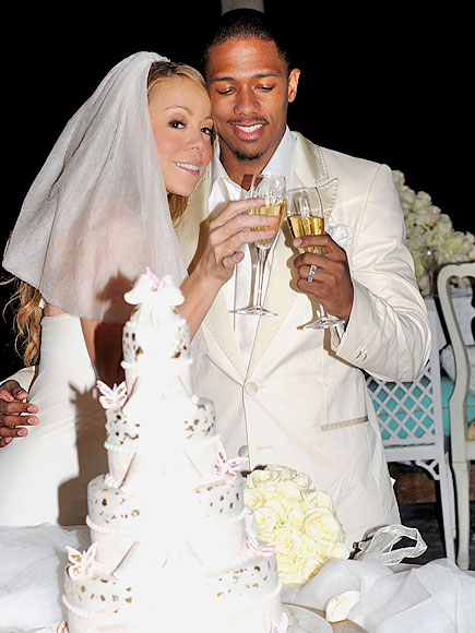 10. WEDDED BLISS photo | Mariah Carey, Nick Cannon