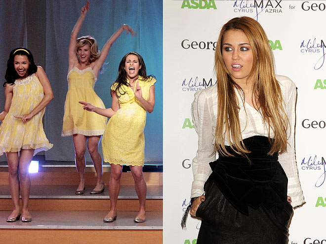 GLEE FOUL photo | Glee, Miley Cyrus