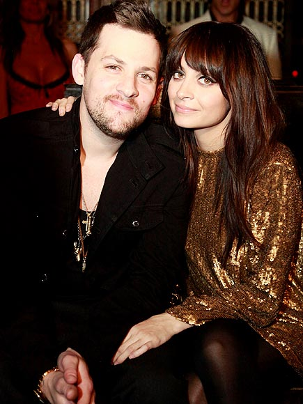 BLACK & GOLD photo | Joel Madden, Nicole Richie