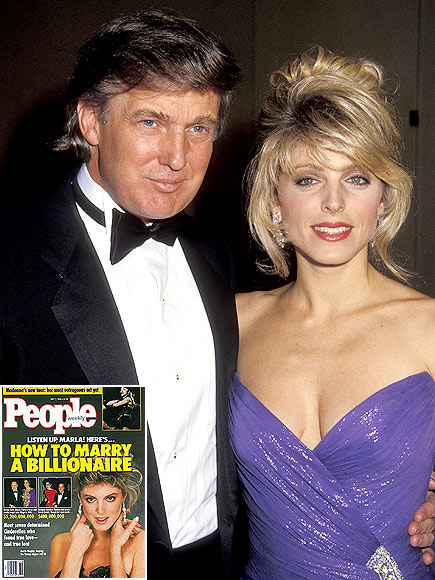 MARLA MAPLES photo | Donald Trump, Marla Maples
