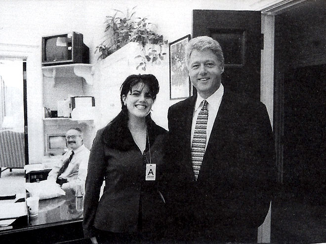 MONICA LEWINSKY photo | Bill Clinton, Monica Lewinsky