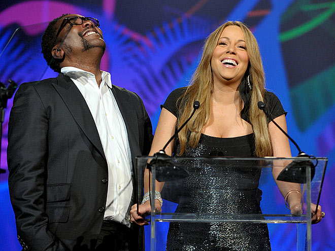 BIG WIN photo | Lee Daniels, Mariah Carey