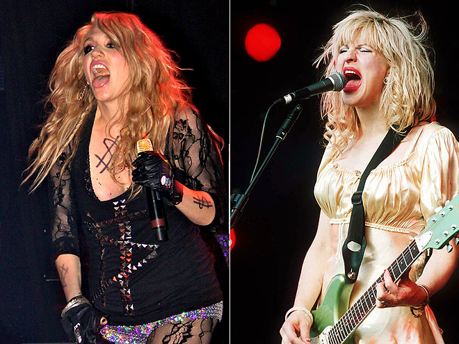 KE$HA & COURTNEY LOVE photo | Courtney Love, Kesha