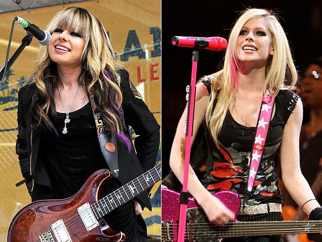 ORIANTHI & AVRIL LAVIGNE photo | Avril Lavigne, Orianthi
