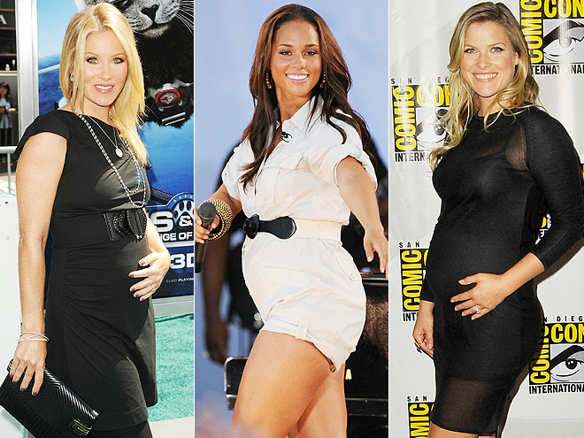 THE BABY BELLIES photo | Ali Larter, Alicia Keys, Christina Applegate