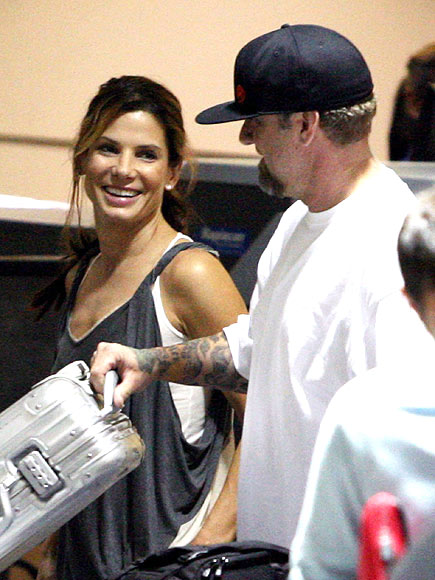 FLYING HIGH photo | Jesse James, Sandra Bullock