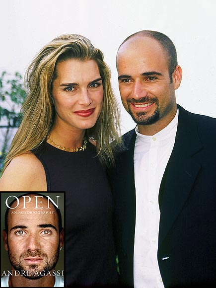 ANDRE AGASSI & BROOKE SHIELDS photo | Andre Agassi, Brooke Shields