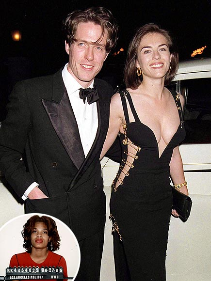 HUGH GRANT & ELIZABETH HURLEY photo | Elizabeth Hurley, Hugh Grant