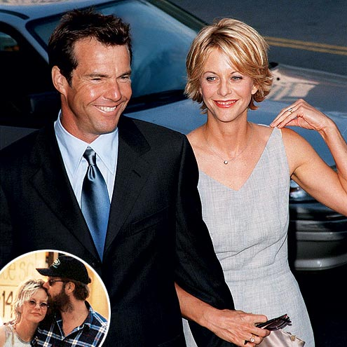 DENNIS QUAID & MEG RYAN photo | Dennis Quaid, Meg Ryan, Russell Crowe