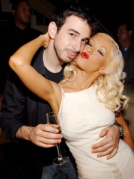 CHRISTINA &#38; JORDAN photo | Christina Aguilera, Jordan Bratman