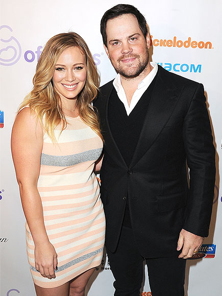 HILARY & MIKE photo | Hilary Duff