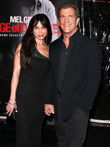 MEL & OKSANA photo | Mel Gibson