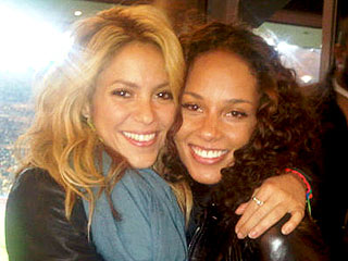Goooal! Stars' Own World Cup Pics | Alicia Keys, Shakira