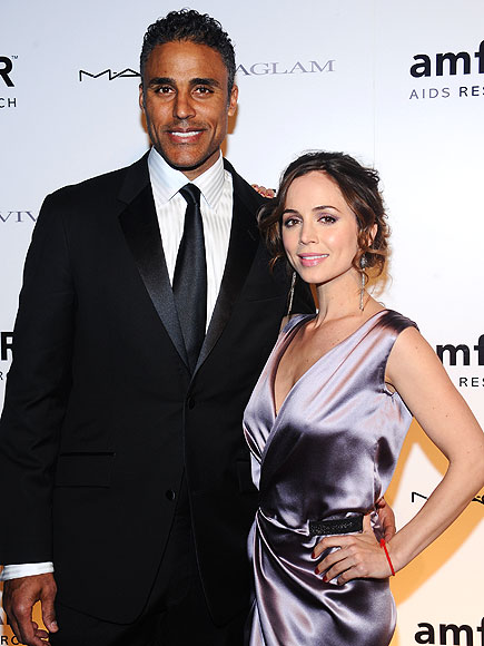 ELIZA & RICK  photo | Eliza Dushku, Rick Fox