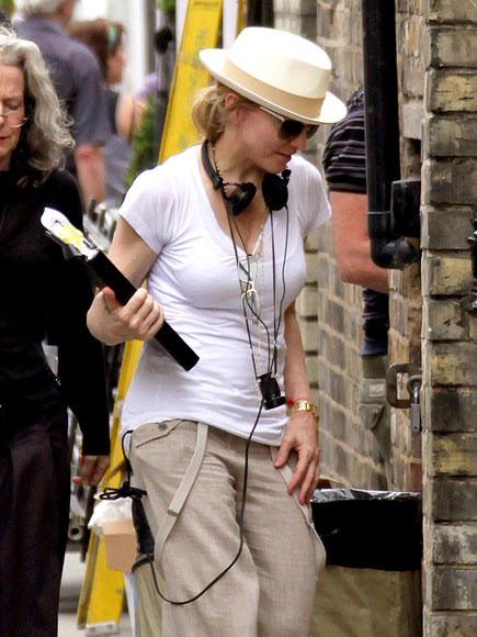 DIRECTING A MOVIE photo | Madonna