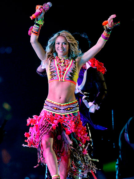 PERFORMING AT THE WORLD CUP photo | Shakira
