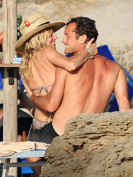 SIENNA & JUDE photo | Jude Law, Sienna Miller