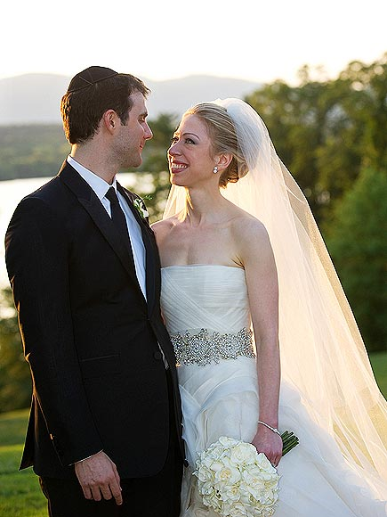 CHELSEA & MARC photo | Chelsea Clinton