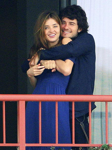 MIRANDA & ORLANDO photo | Miranda Kerr, Orlando Bloom