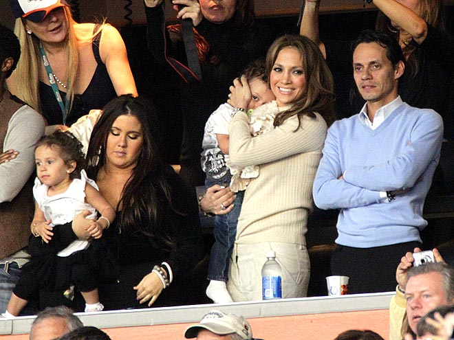 FAN SECTION photo | Jennifer Lopez, Marc Anthony
