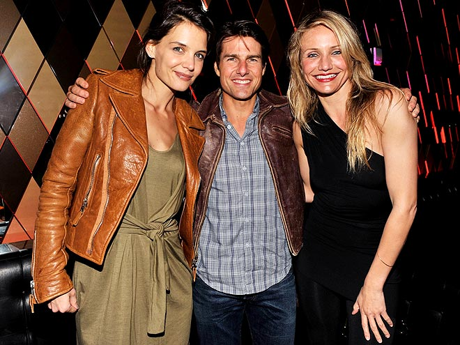 WHAT A &#39;KNIGHT!&#39; photo | Cameron Diaz, Katie Holmes, Tom Cruise