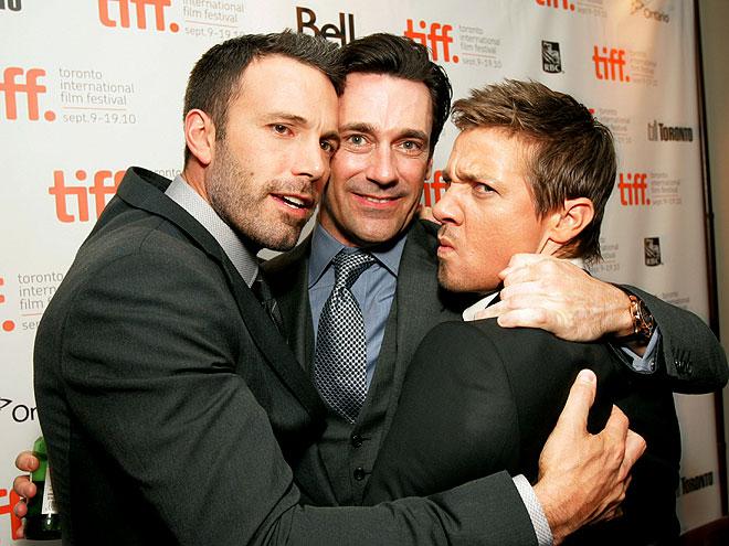 BROTHERS IN ARMS photo   Ben Affleck, Jeremy Renner, Jon Hamm