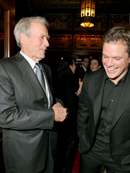 &#39;HERE&#39; & NOW photo | Clint Eastwood, Matt Damon