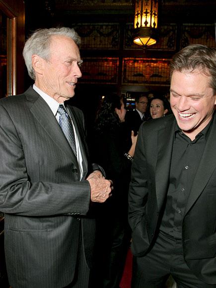 'HERE' & NOW photo | Clint Eastwood, Matt Damon