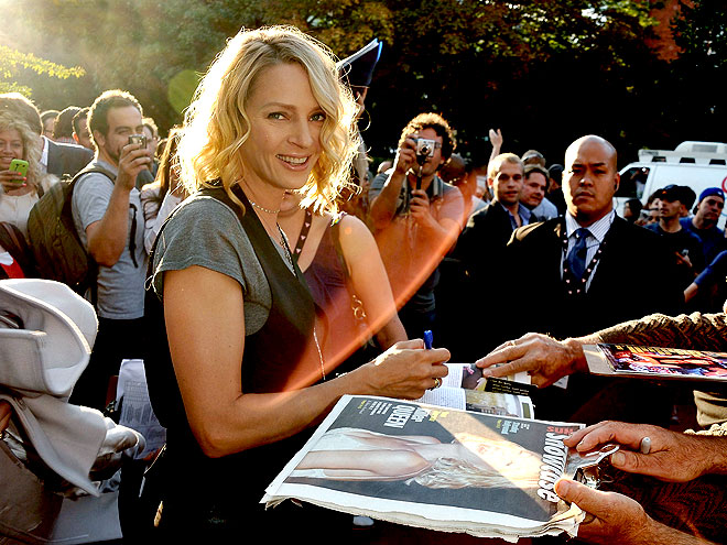 GOOD SIGN photo | Uma Thurman