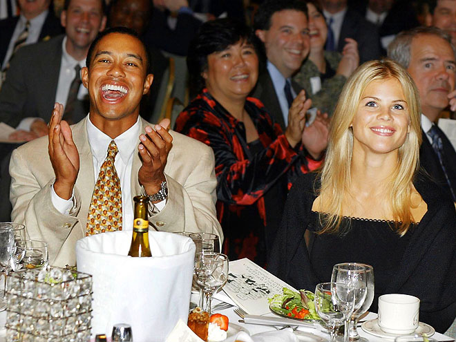 A BIG NIGHT OUT photo | Elin Nordegren, Tiger Woods