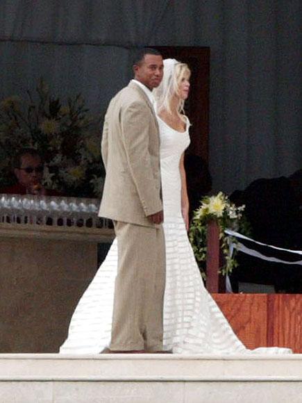 THE WEDDING photo   Elin Nordegren, Tiger Woods