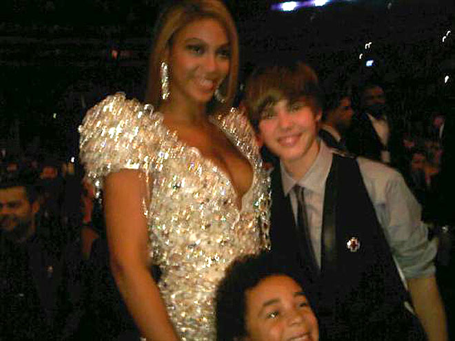 BEYONCÉ photo | Beyonce Knowles, Justin Bieber