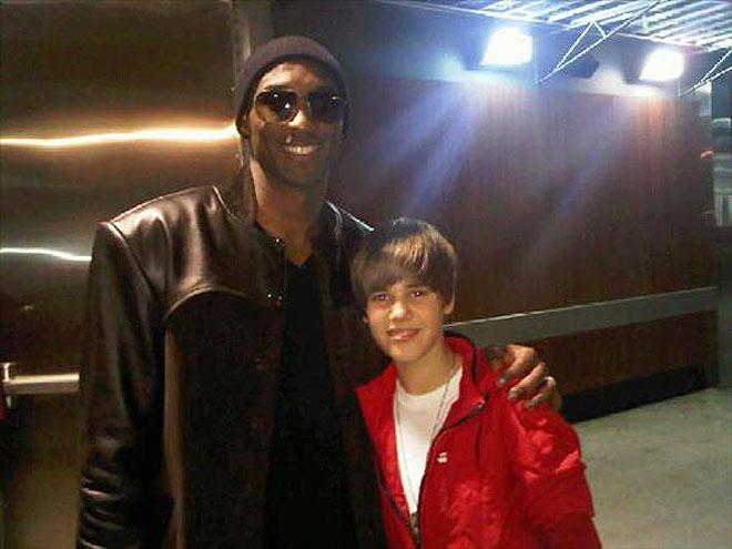 KOBE BRYANT photo | Justin Bieber, Kobe Bryant