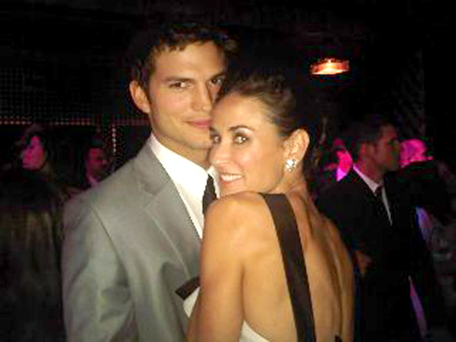 DEMI & ASHTON photo | Ashton Kutcher, Demi Moore