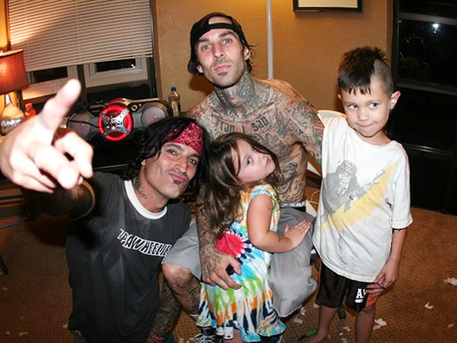 TRAVIS BARKER photo | Tommy Lee, Travis Barker