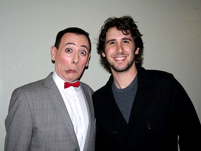 JOSH & PEE-WEE photo | Josh Groban