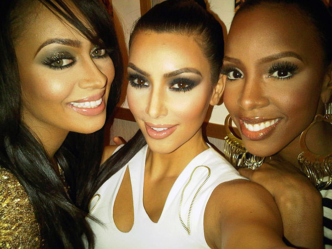 LALA, KIM & KELLY photo | Kelly Rowland, Kim Kardashian