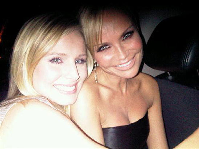 KRISTEN & KRISTIN photo | Kristen Bell, Kristin Chenoweth