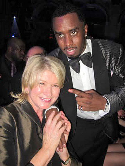 MARTHA & DIDDY  photo | Martha Stewart, Sean \P. Diddy\ Combs