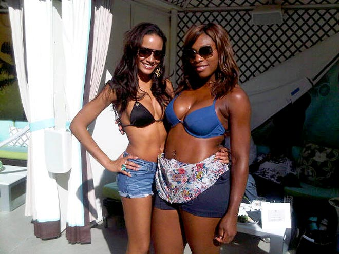 SERENA WILLIAMS photo | Selita Ebanks, Serena Williams