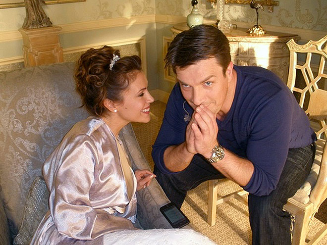 ALYSSA MILANO & NATHAN FILLION photo | Alyssa Milano, Nathan Fillion