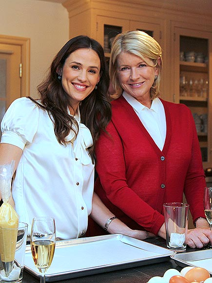 JEN & MARTHA photo | Jennifer Garner, Martha Stewart