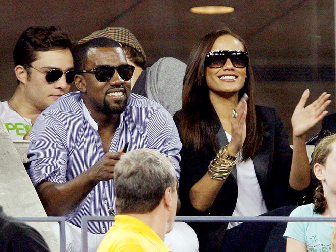 KANYE & SELITA photo | Kanye West, Selita Ebanks